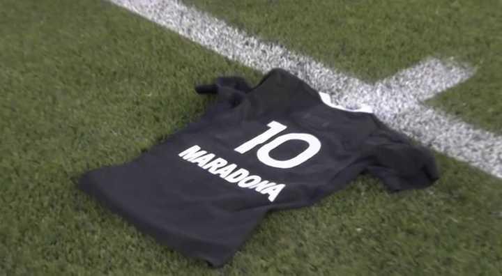 El homenaje de los All Blacks a Maradona