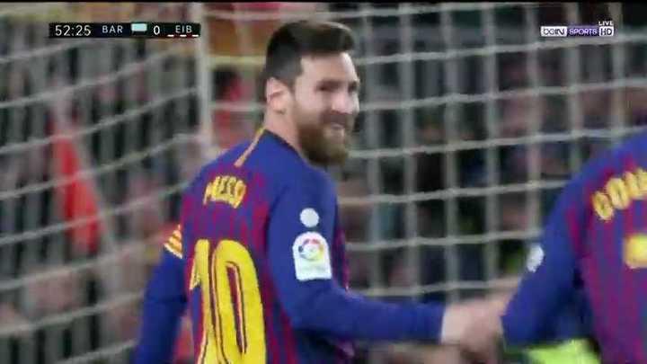 Messi metió su gol 400 en liga