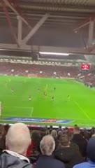 Los goles agónicos desde la tribuna