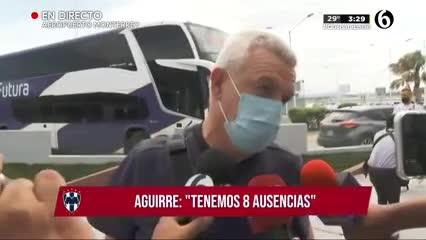 Javier Aguirre habló de la situación de Esteban Andrada
