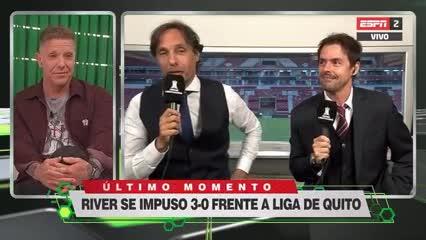 Mariano Closs y Gustavo López compartieron dupla de transmisión