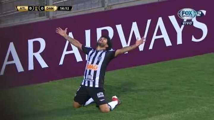 Mirá los goles de At. Mineiro 3 - Danubio 2