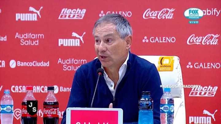 """""""Pensamos en la Sudamericana, el balance lo haremos después"""""""