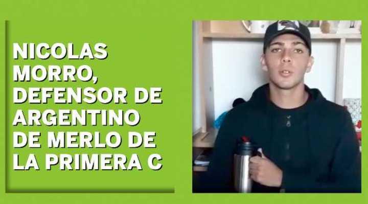 Nicolás Morro habló de la situación en el ascenso
