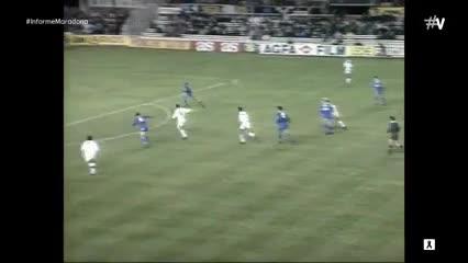 El partidazo de Maradona contra el Real Madrid