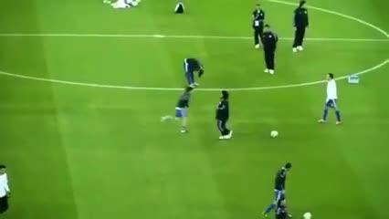Maradona y Messi a puro toque en 2010