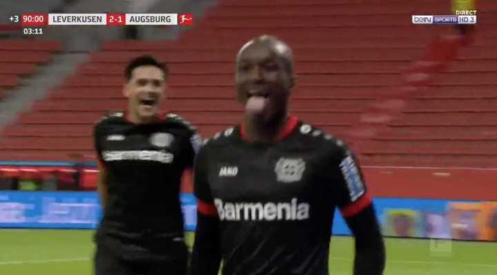 El 3-1 de Leverkusen al Augsburgo sobre el final
