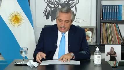 El anuncio del Presidente sobre las nuevas medidas para el AMBA