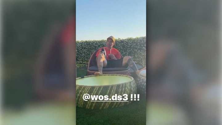 Messi a puro mate al ritmo de WOS
