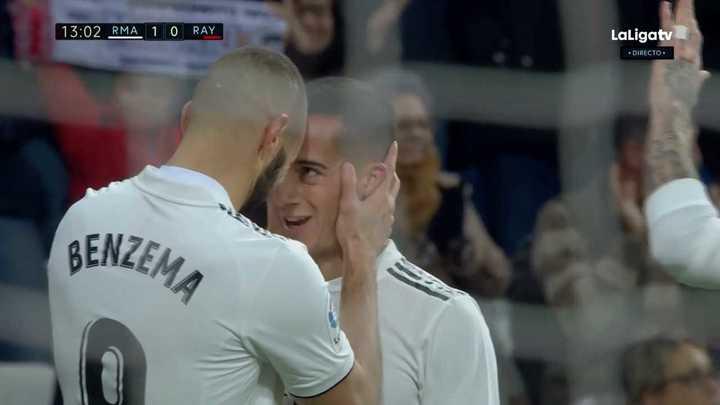 Benzema metió el primero del Madrid
