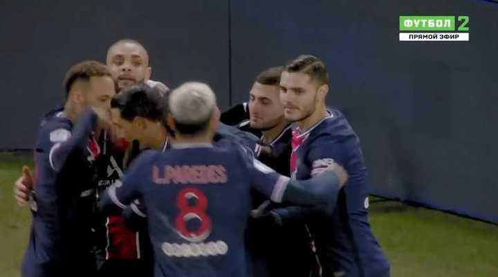 PSG ganó 4 a 0 con goles de Icardi, Neymar y dos de Mbappé