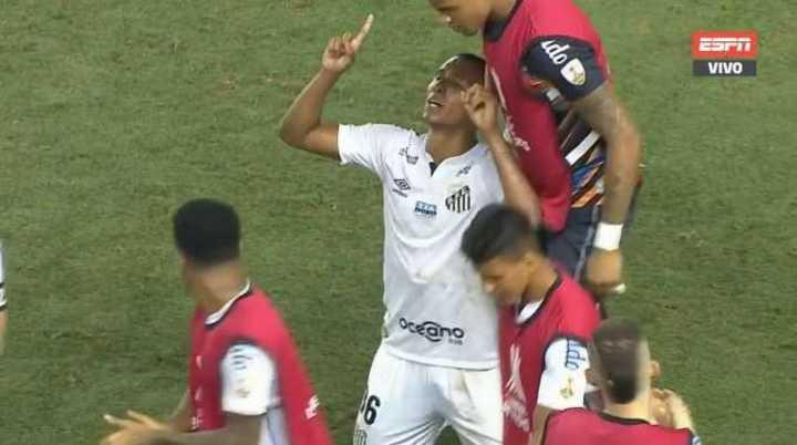 Braga lo empató para Santos