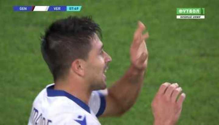 El gol de Gio Simeone