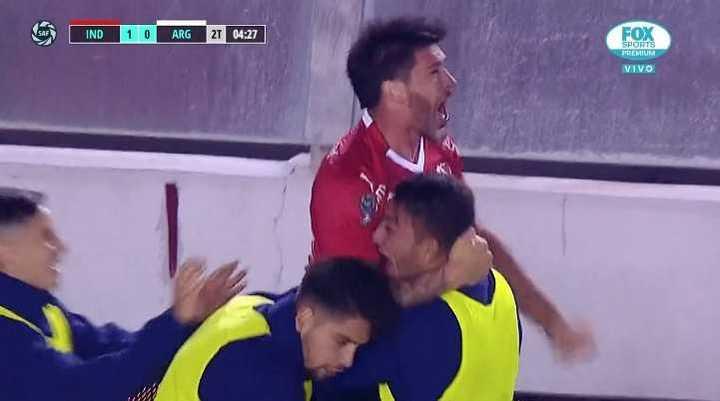 Pablo Pérez marcó el primero del Rojo