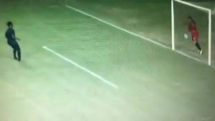 Gol fantasma en el empate 1 a 1 entre Confiança y Náutico por la Serie C de Brasil.