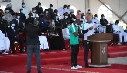 El Funeral de Estado de PapaBouba Diop