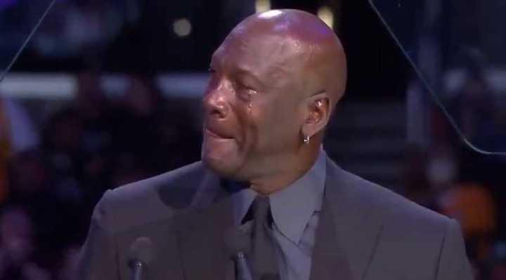 Jordan lloró al recordar a Bryant