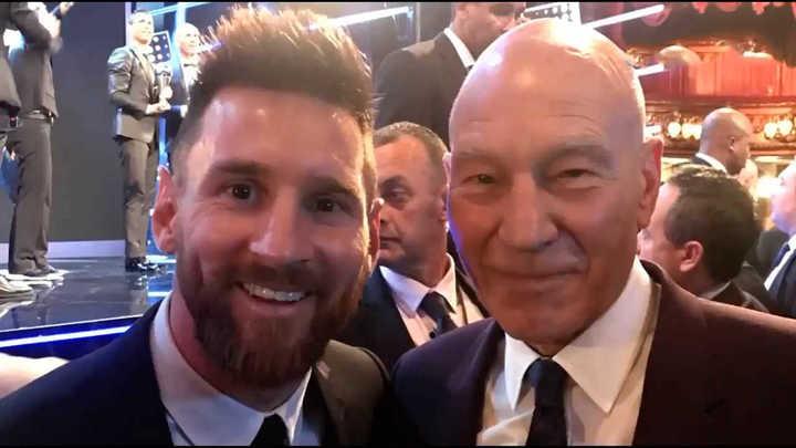 Messi sumó un nuevo fan desde Hollywood
