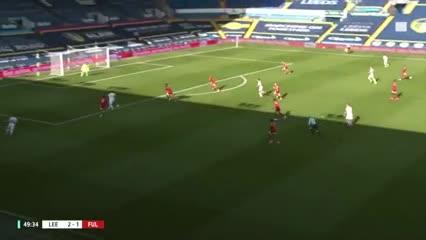 Mirá los goles del Leeds 4 Fulham 3