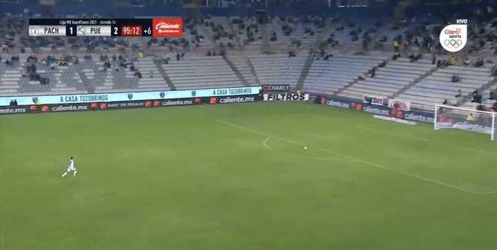 El gol que le hicieron a Ustari desde 80 metros