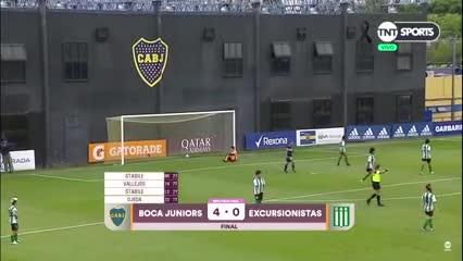 Fecha 1 - Boca 4 - Excursionistas 0