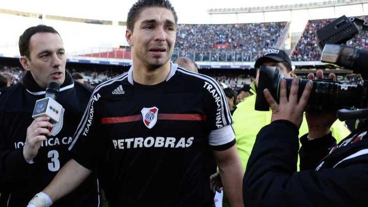 Juan Pablo Carrizo recordó el descenso de River
