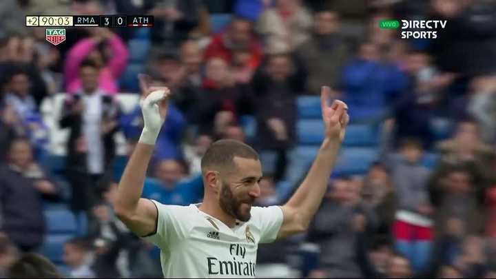 Benzema se lleva la pelota
