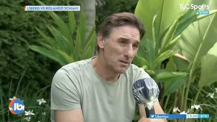 Al Flaco Schiavi le preguntaron si influyó el mensaje de Román antes de la final del 2012