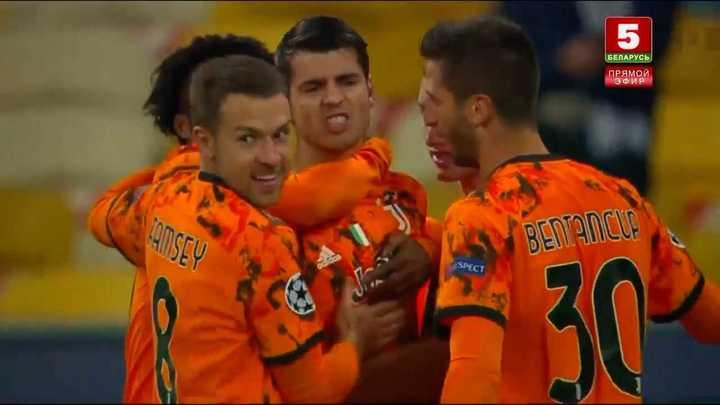 Los goles del triunfo de la Juventus ante el Dinamo