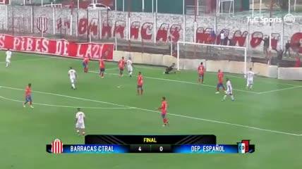 Los goles de Barracas 4 - Dep. Español 0