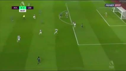Los goles de Leeds ante Aston Villa
