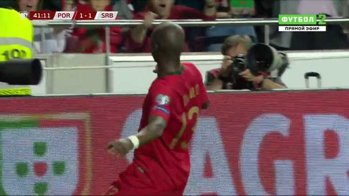 El golazo de Danilo para Portugal