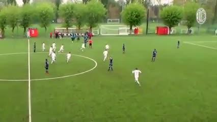 Golazo del Milan en el último minuto