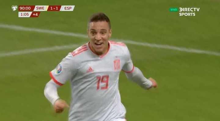 Rodrigo lo empató para España en el final