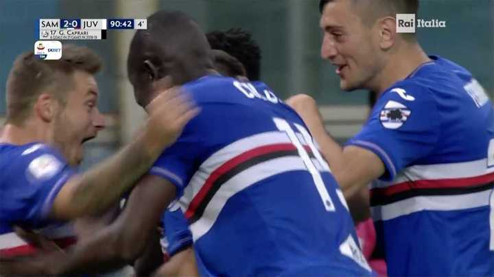 Golazo de Sampdoria