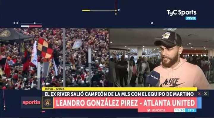 González Pírez habló de la llegada del Pity a la Liga MLS