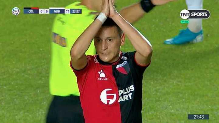 Zuqui marcó el 1 a 0 de Colón