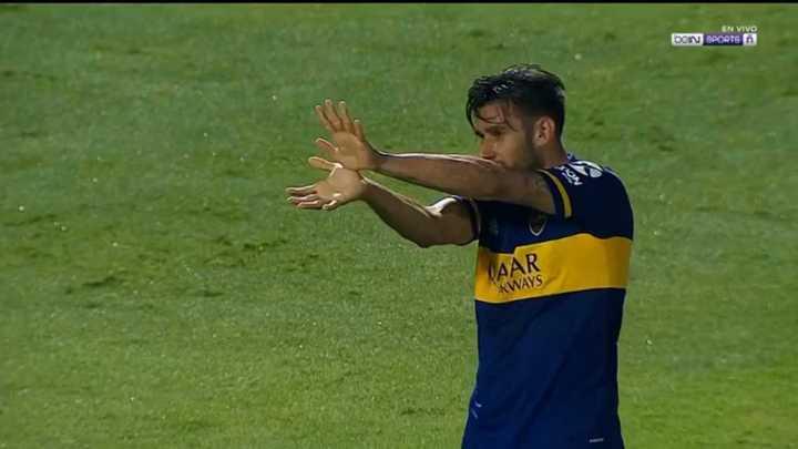 Salvio marcó su doblete y estiró la ventaja de Boca