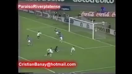 Los 10 goles de Crespo en la Libertadores 96