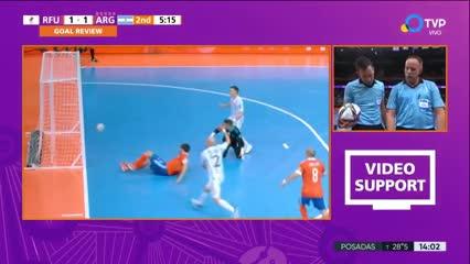 Rusia empató el partido