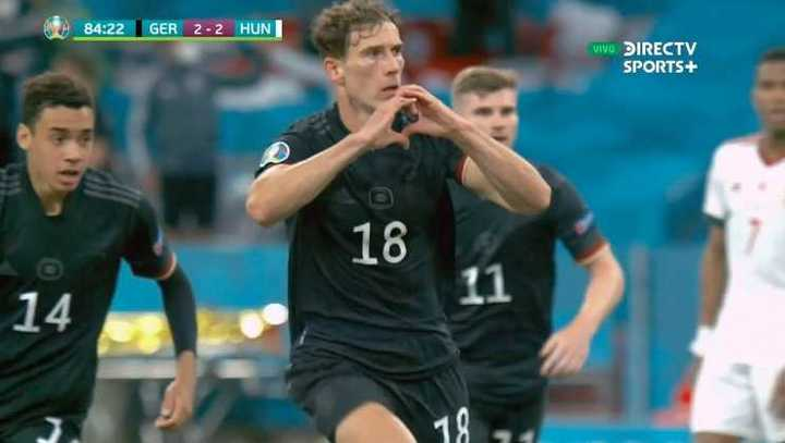 Goretzka puso el 2 a 2 de Alemania