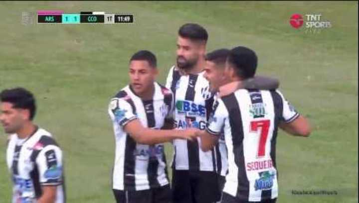 Giménez empató el partido