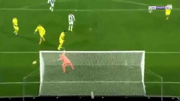 Cristiano se perdió un gol cantado