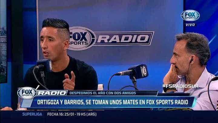 La anécdota de Barrios con el el nutricionista de Messi