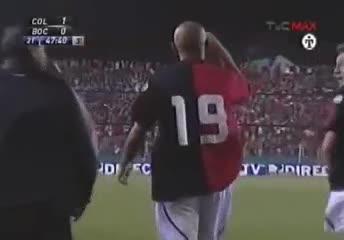 El golazo de Grisales a Boca en 2007