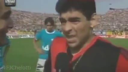 Diego y su amor por el Rojo