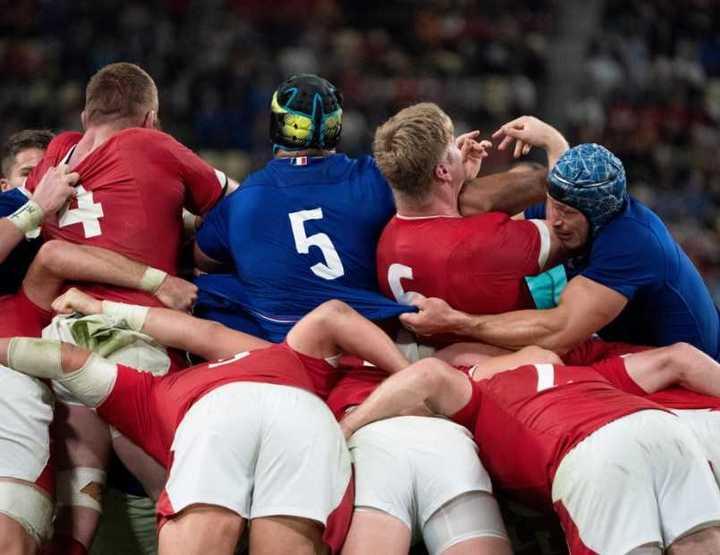 Lo mejor de Gales-Francia por los cuartos de final