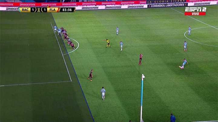 Había offside en el gol de Reniero
