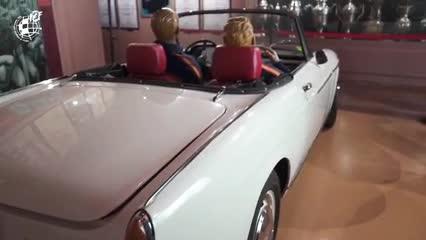 El auto de Di Stéfano