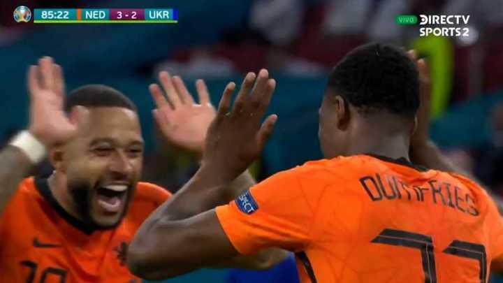 Países Bajos derrotó a Ucrania en un partidazo emocionante